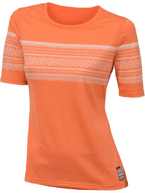 Aclima W's DE Marius T-Shirt Coral Rose